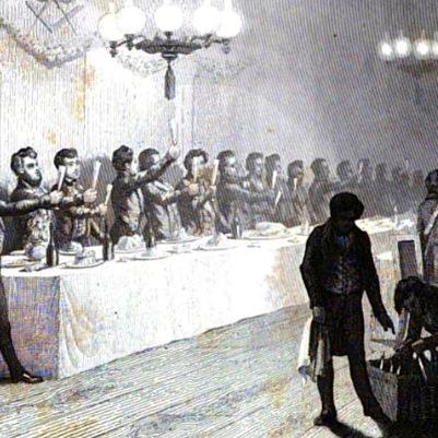 1847 François Timoleon Sociedades Secretas