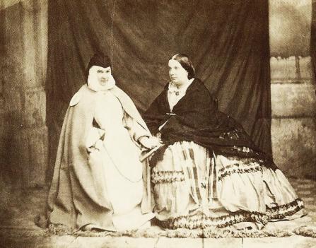 Sor Patrocinio e Isabel II