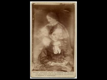William Mumler. Tarjetas de visita con espíritus
