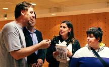 Presentación Casa del Libro Vigo. Caen estrellas fugaces-Firmas