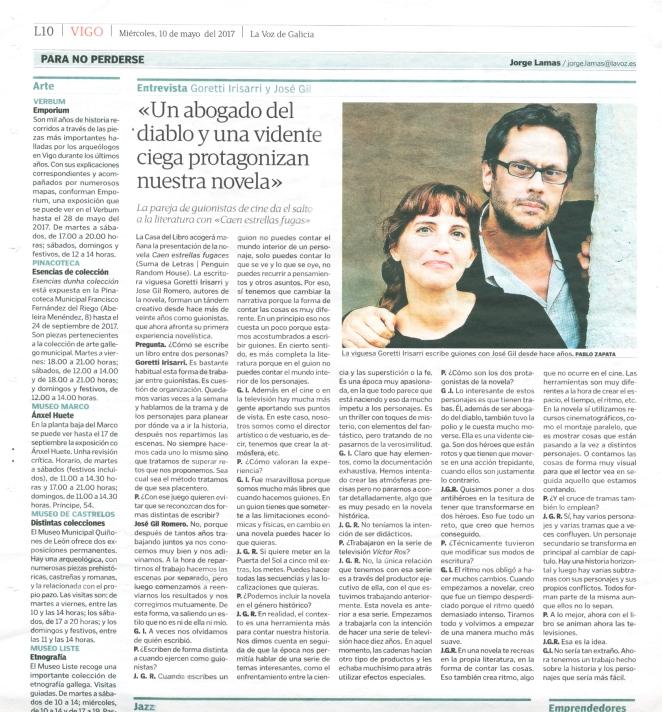 EntrevistaLaVozdeGalicia